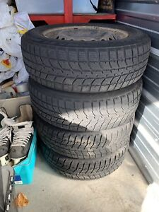Bridgestone Blizzak 195/65/15 winter tires and rims
