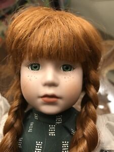 Porcelain Anne of green gables doll from PEI