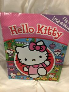 Hello kitty search and find book