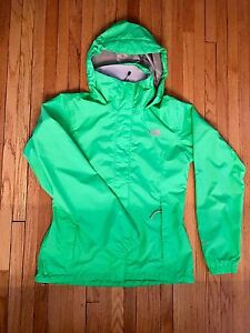 The North Face Women's Resolve Jacket, Small. Bright green.