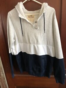 Men's HOLLISTER hoodie BNWT size large