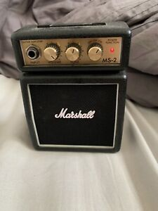 Marshall Micro Amp, Half Stack Black, with belt clip