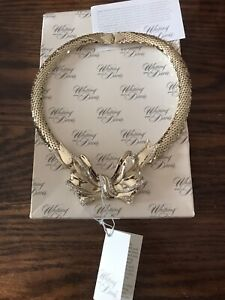 Whiting and Davis vintage necklace