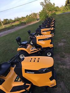 Cub Cadet RZT 50 Zero Turns in Stock!!  Kawasaki Vtwin Power!