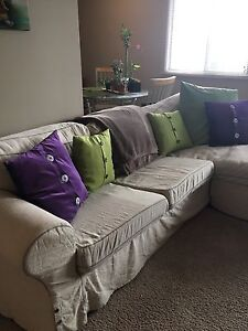 Sofa With Chaise for Sale