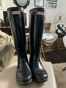Hunter Rain Boots - Women's size 8