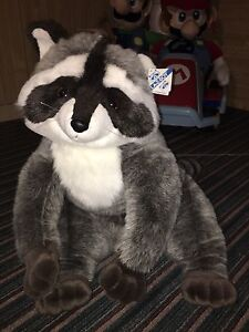 Very Large (Giant) Genuine LazyBoy Raccoon Stuffie