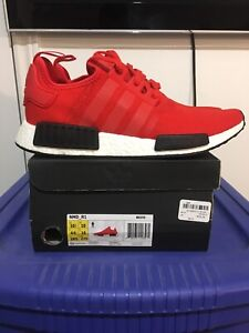 Adidas NMD R1 OG Clear Red 2016 Deadstock