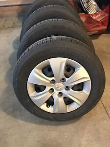 4 almost new Hankook Optimo 195/65 R15