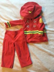 Firefighter Costume Size 12M