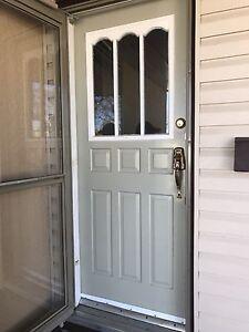 """32"""" by 80"""" steel door"""