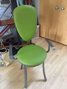 Dining chairs olive green