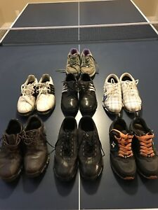 Men's golf shoes size 7 - assorted brands $15 each