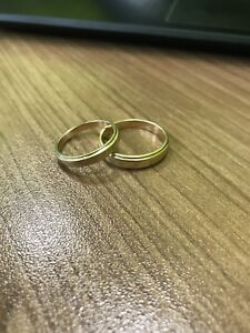 2 Gold Rings For Sale - Solid 14k