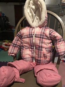 Like new baby girls snowsuit