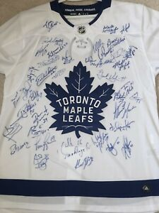 Leafs Alumni Signed Jersey (with COA)