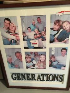 For Sale:  Generations photo frame