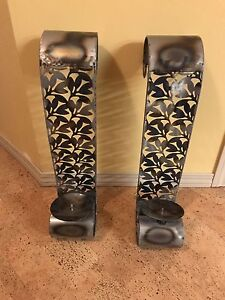 Steel Candle Holders