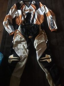 Thor, boys 28, dirt bike pants and medium shirt