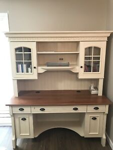 Solid Wood Desk and Chest of Drawers
