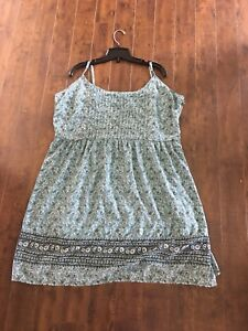 Blue Summer Dress XXL