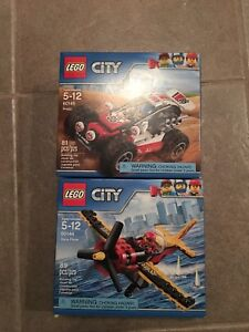 LEGO City 60145 and 60144 Brand New