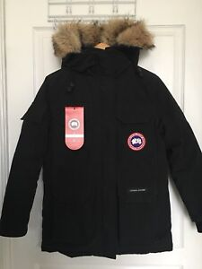 Women's Authentic Canada Goose Expedition, Black, 2XS Fusion Fit