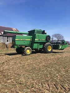 6620 combine and 916 head
