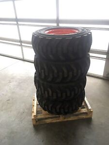 Skid Steer Rims and Tires