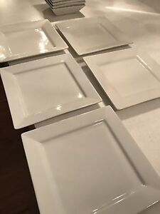 Square white dinner set. Stirling Stirling Area Preview