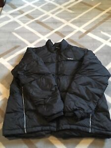 Men's black Reebok winter coat