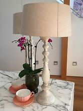 Table Lamps x 2 Bondi Eastern Suburbs Preview