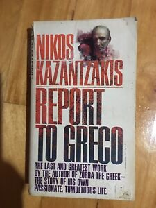 "Book: Kazantzakis"" Report to Greco"""