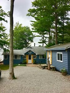 Beautiful Cottage, Georgian Bay, 3 bedroom plus bunkie, $1,700