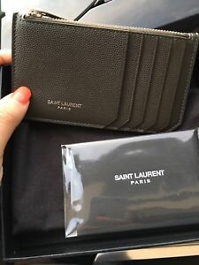 YSL saint laurent authentic card holder wallet