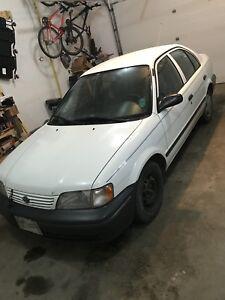1998 Toyota tercel $600
