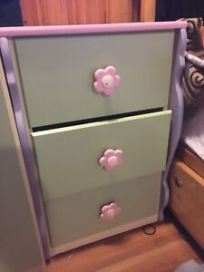 Little girls side table/night stand