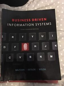 Business driven information systems third edition (ryerson)