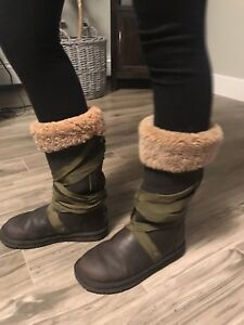 UGG winter Boots - leather