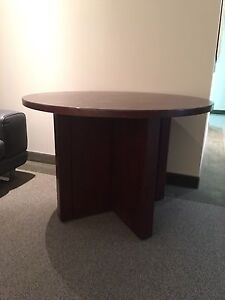 Round boardroom table for sale