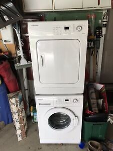 Samsung stacked washer dryer apartment size