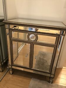 Mirrored hall / entryway cabinet