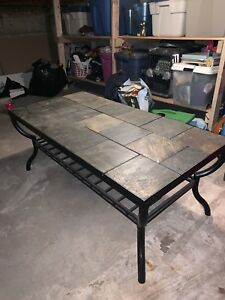 Stone Coffee & End Table
