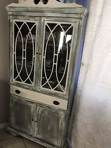 Antique/Refinished China Cabinet