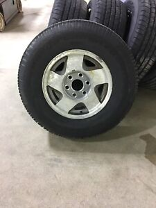 6x139 GM spare tire and rim