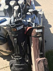 2 Golf Bags w/ Men's Right Hand Clubs $75 Each or OBO