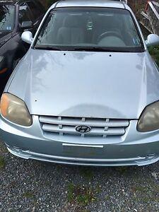 2003 Hyundai Accent (junking)