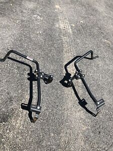 Kimpex ATV passenger pegs and fender protectors