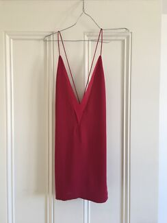 RENT Dion lee red top size 8