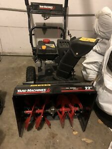 Souffleuse Yard Machine MTD snowblower ❄️